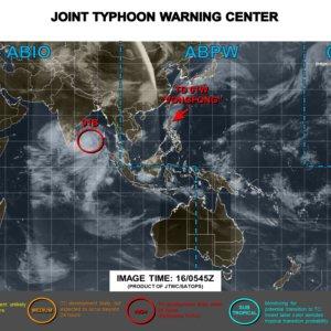 【2016年米軍最新】台風9号のたまごは台湾への影響は? #9_2