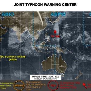 〔2015〕台風13号のたまご米軍JTWC、ヨーロッパ最新進路!関東影響は?